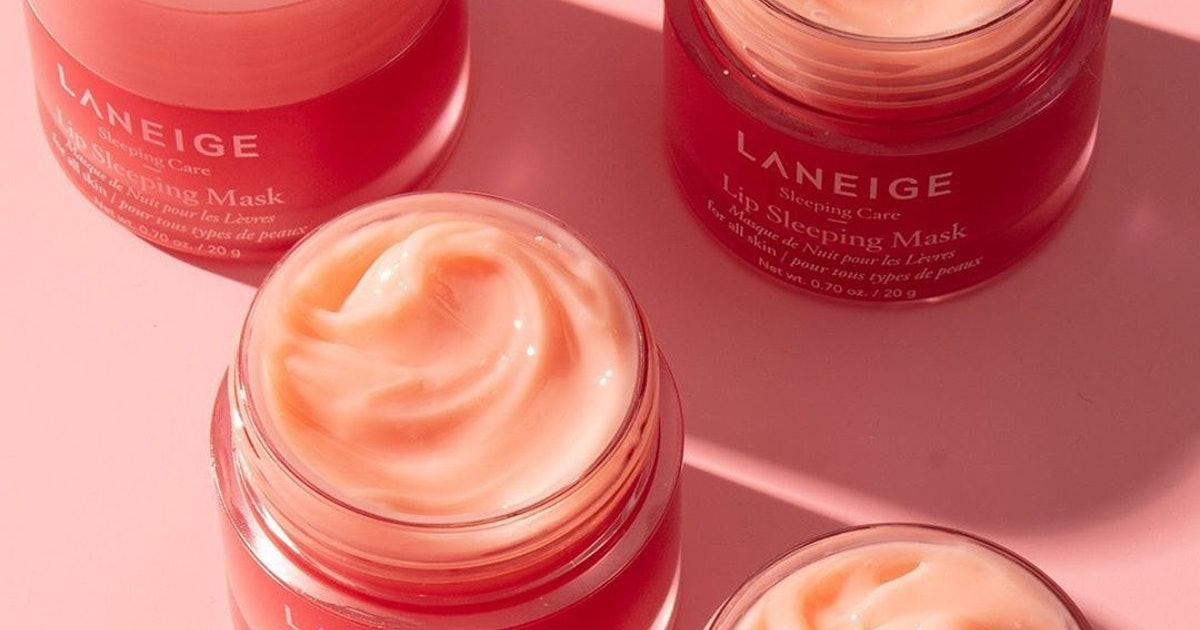 Laneige's Lip Sleeping Mask Will Be Even More Of A Cult Classic With Its Nostalgic New Scent