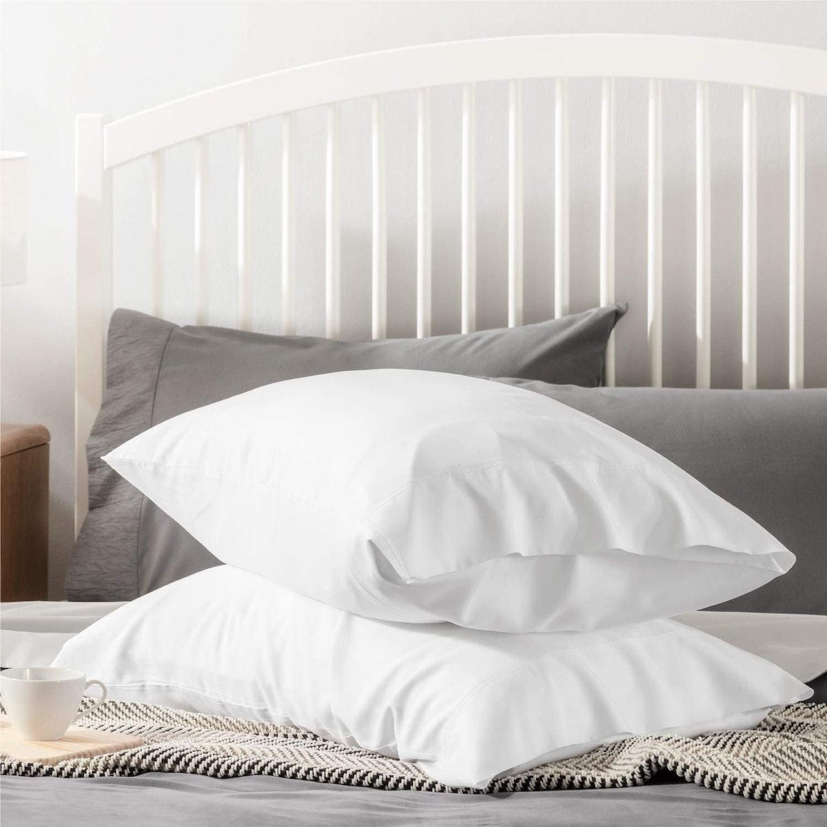 Bedsure Cooling Bamboo Pillowcases