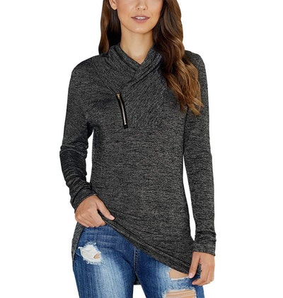 KIRUNDO Long Sleeve Pullover Sweatshirt