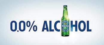 Heineken 0.0 non-alcoholic beer.
