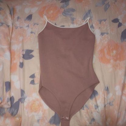 Deina716 Baby Pink Bodysuit