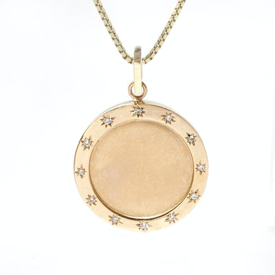 Starlight Disc Pendant