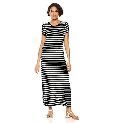 Amazon Essentials Short Sleeve Maxi Dress