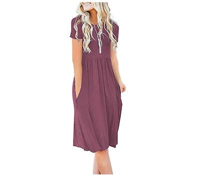 DB MOON Empire Waist Dress