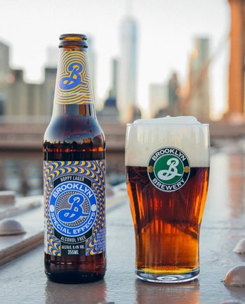 Brooklyn Brewery Special Effects non-alcoholic beer.