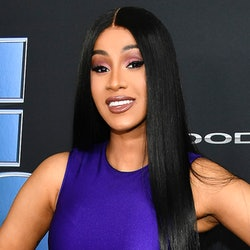 Cardi B at the 'Fast 9' premiere