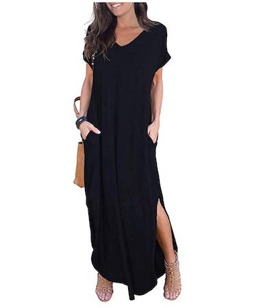 GRECERELLE Women's Casual Maxi Dresses