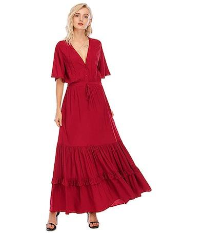 R.Vivimos Bohemian Dress