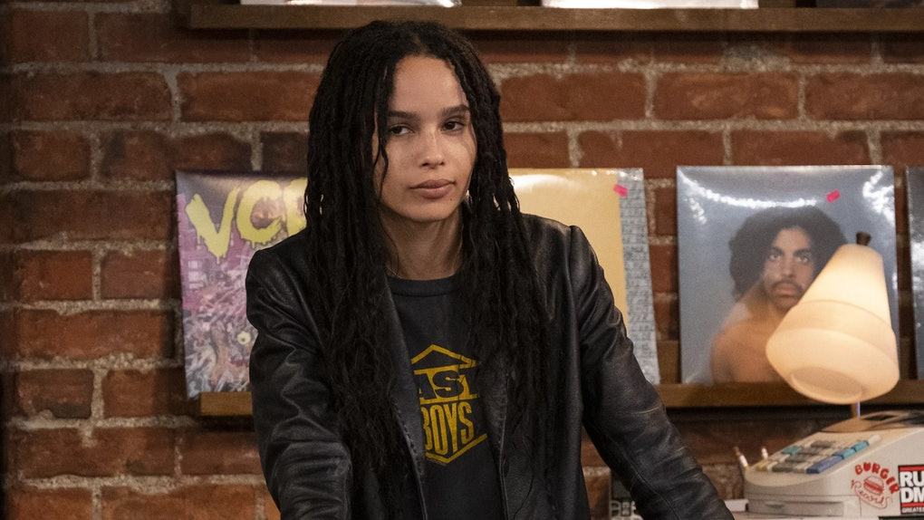 Zoé Kravitz had a shady response to Hulu canceling her show 'High Fidelity.'