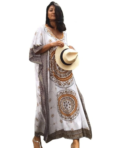 SMUDGE Life Women's Kaftan Maxi Dress