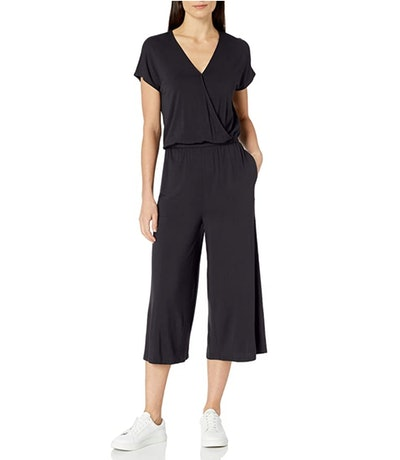 Amazon Essentials Women's Short Sleeve Jumpsuit