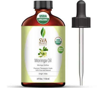 SVA Organics Moringa Oil (4 Ounces)
