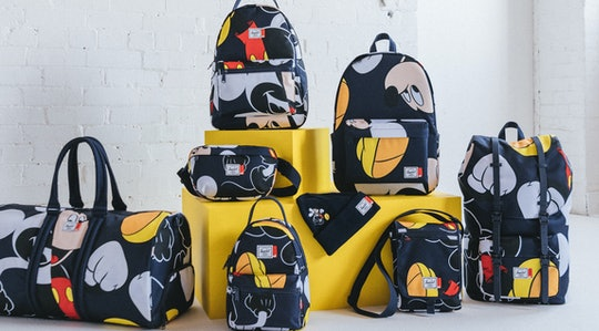 hershel disney collaboration featuring duffel bag, backpacks, fanny pack, beanie, and more