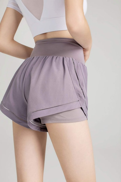 J.ING Honey Suckle Lavender Running Shorts