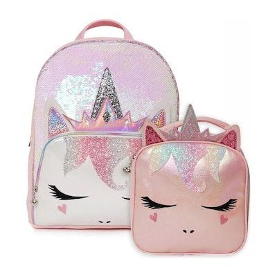 OMG Accessories Queen Miss Gwen Sequins Backpack Bundle