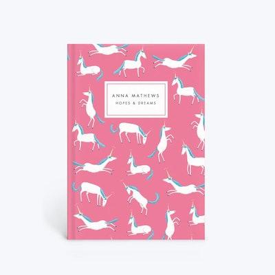 Sophie Corrigan Pink Unicorn Notebook