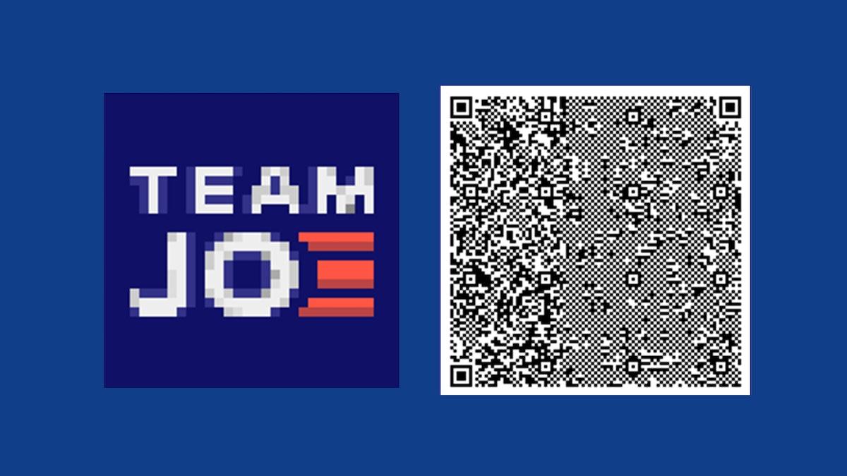 Biden-Harris 'Animal Crossing' yard signs include a Team Joe design.