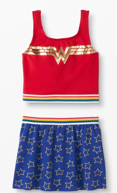 DC Wonder Woman Two Piece Swimsuit