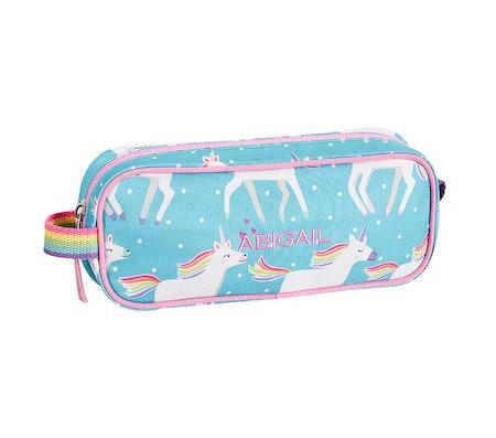 Aqua Unicorn Mackenzie Pencil Case