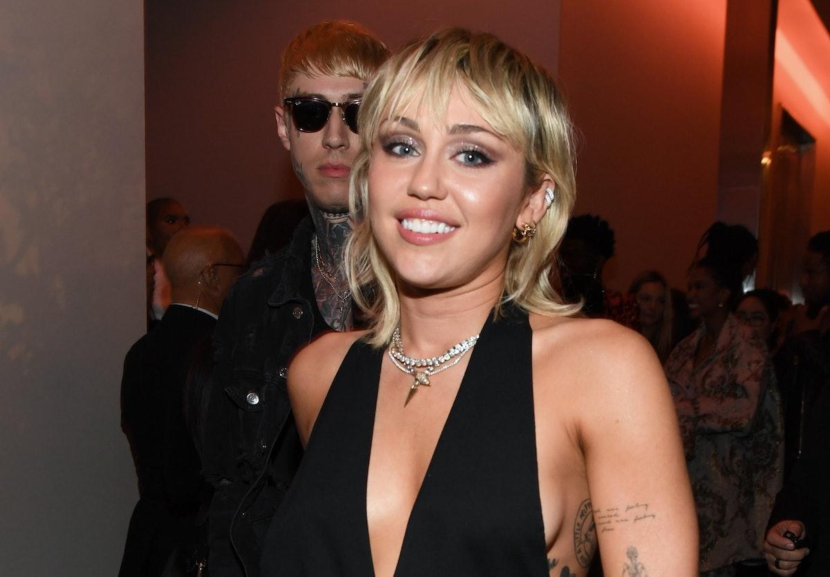 """Miley Cyrus' Reaction To Kourtney Kardashian's """"Wrecking Ball"""" Instagram Was Epic"""