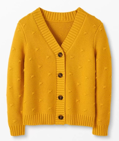 Bobble Cardigan - Golden Hour