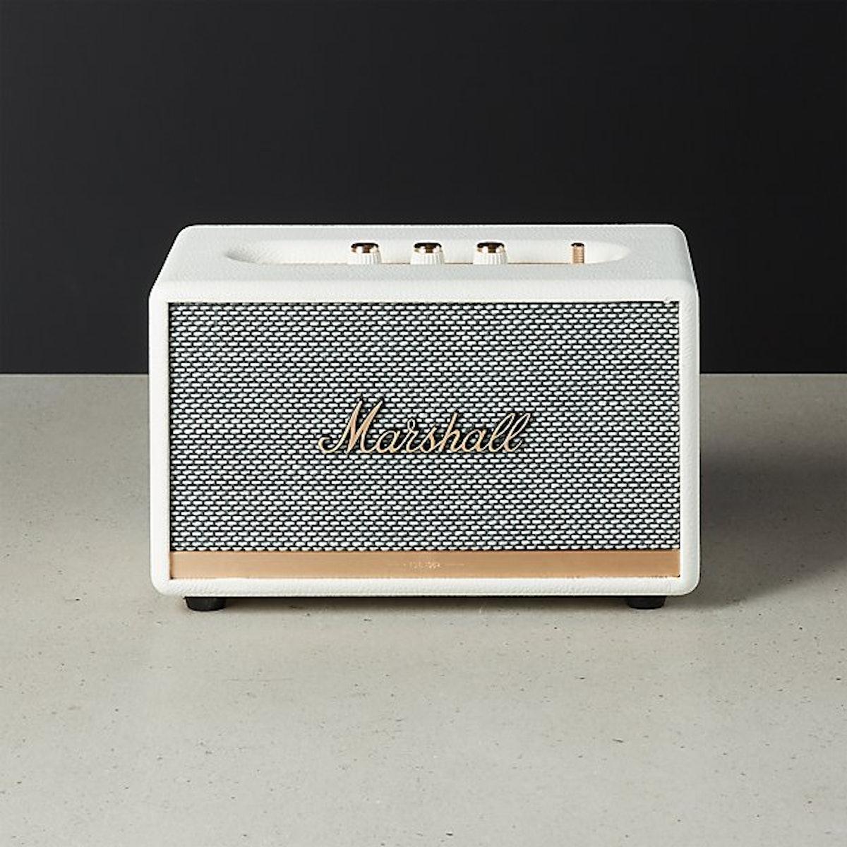 Marshall Action II Cream Bluetooth Speaker