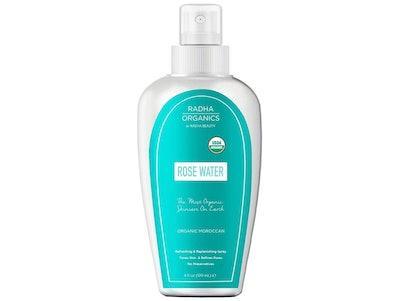 Radha Beauty USDA Organic 100% Pure Moroccan Rosewater Toner