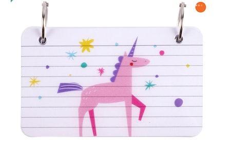Creatology™ Unicorn Ring-Bound Index Cards