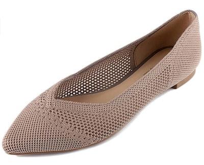 Feversole Knit Flats