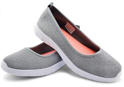 JABASIC Slip On Walking Shoes