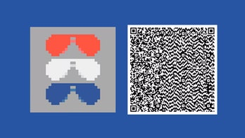 QR code for the sunglasses flag.