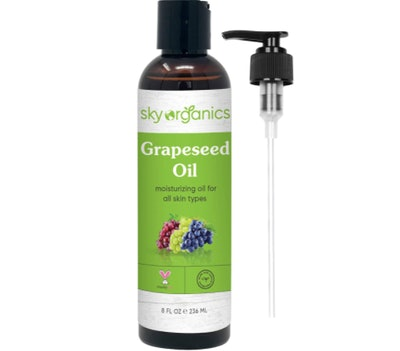Sky Organics 100% Pure Grapeseed Oil (8 Ounces)
