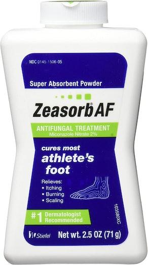 Zeasorb Antifungal Powder Treatment For Athlete's Foot, 2.5 oz. (3-Pack)