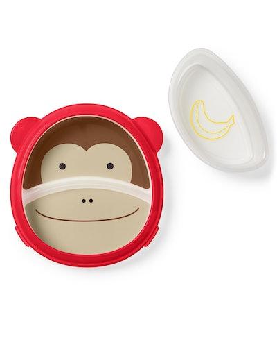 Zoo Smart Serve Non-Slip Training Set in Monkey