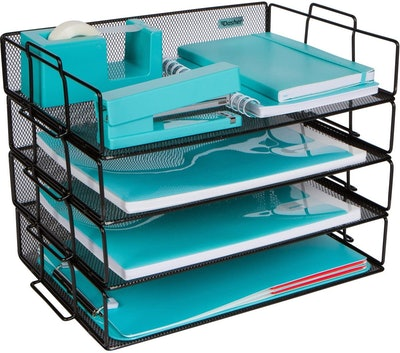 Dasher Products Stackable Tray Organizer (4-Pack)