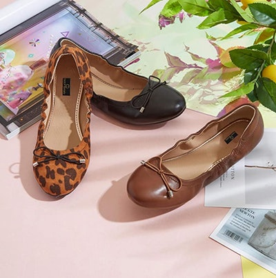 DailyShoes Round Toe Ballet Flats
