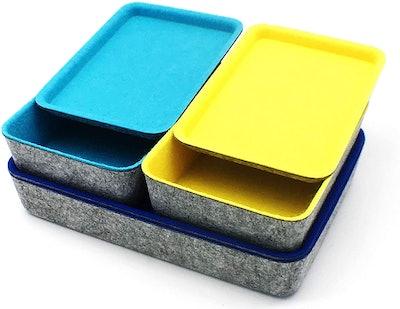 Welaxy Felt Drawer Organizer Trays (3-Pack)