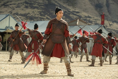 Yoson An in Disney's 'Mulan' (via press link)