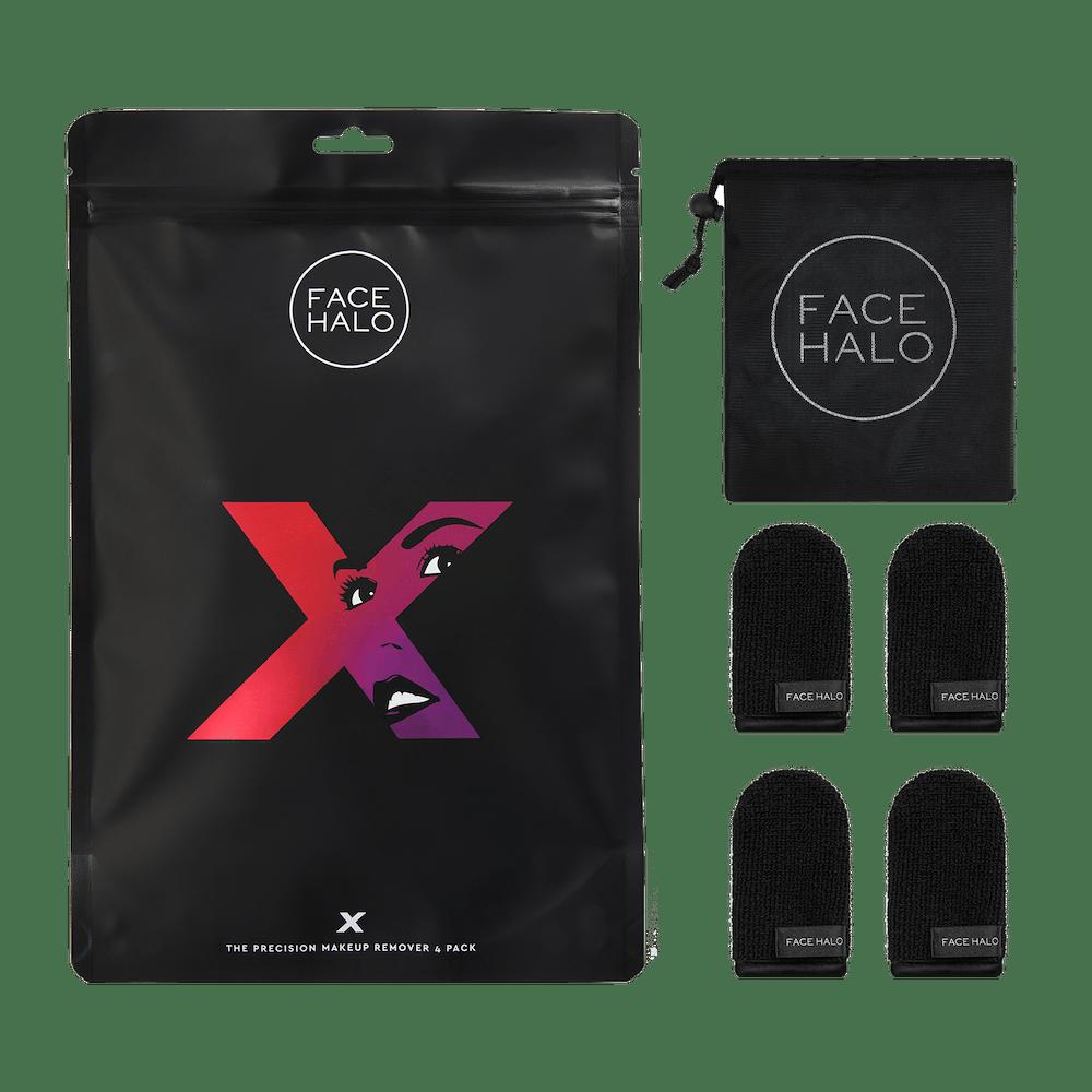 FACE HALO X 4 PACK + WASHBAG