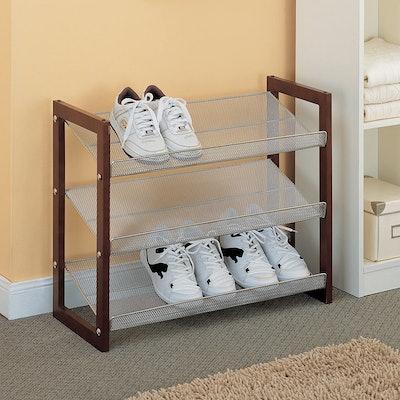 Organize It All Store Shoe Rack