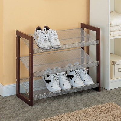 Organize It All Store Shoe Rack