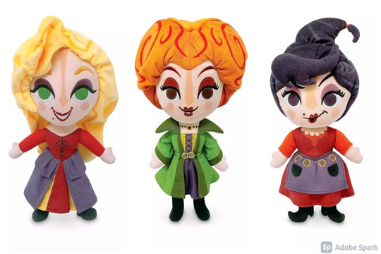 You can now have the Sanderson Sisters in plush form with these 'Hocus Pocus' toys.