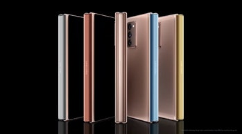 Galaxy Z Fold 2 hinge colors