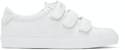 White Urban Street Sneakers