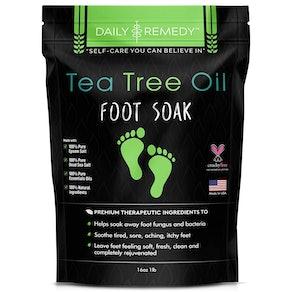 FineVine Organics Tea Tree Oil Foot Soak, 1 lb.