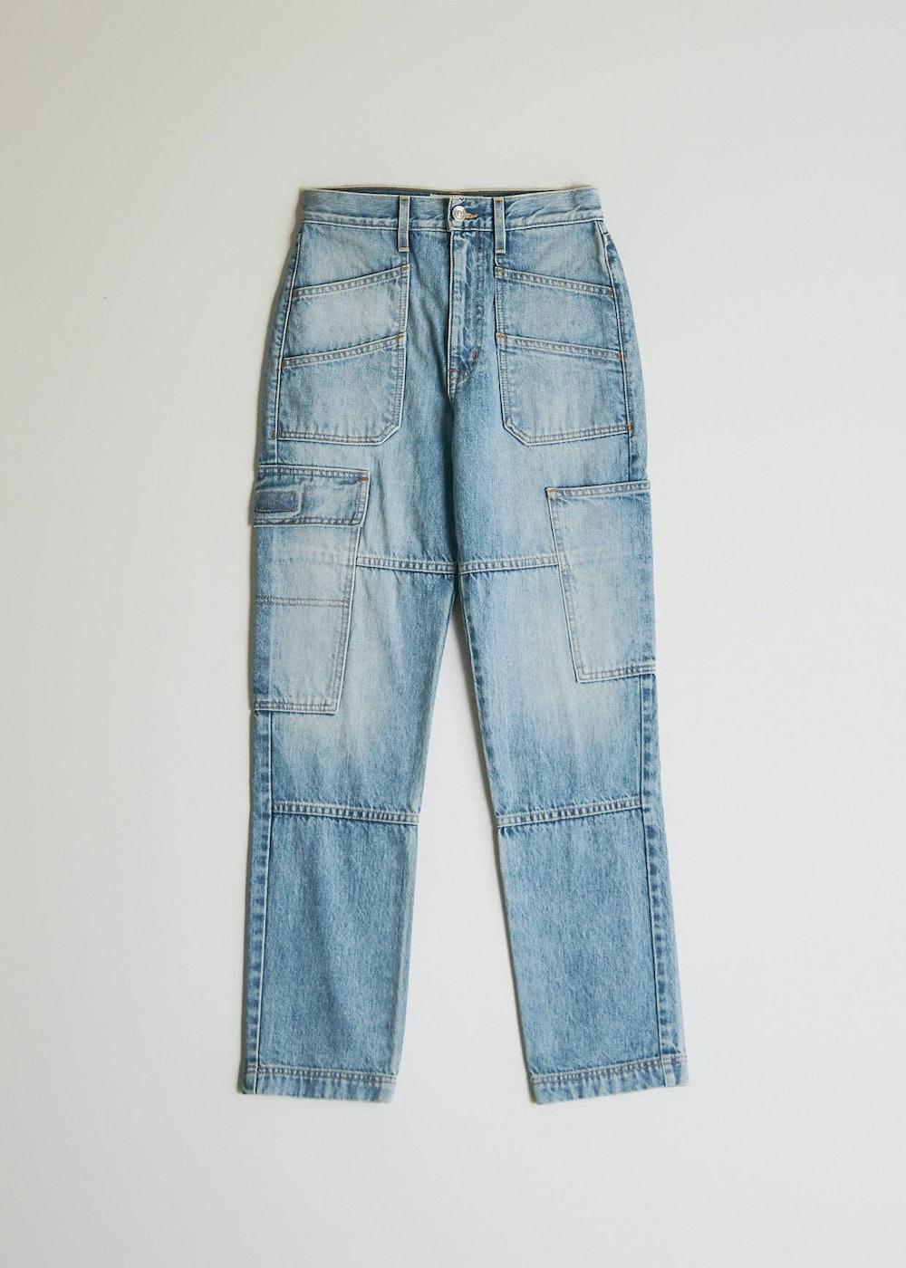Savior Cargo Jean in Salt Flats Blue