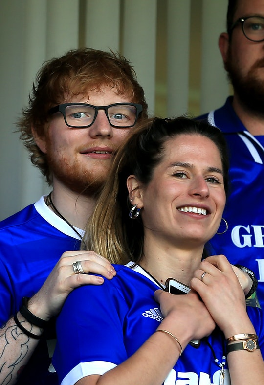 Ed Sheeran and wife Cherry Seaborn