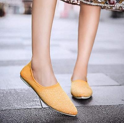 Damyuan Knit Loafers
