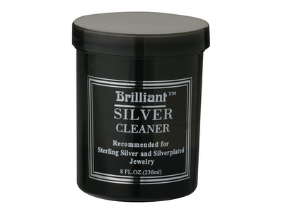 Brilliant Silver Jewelry Cleaner, 8 Oz.