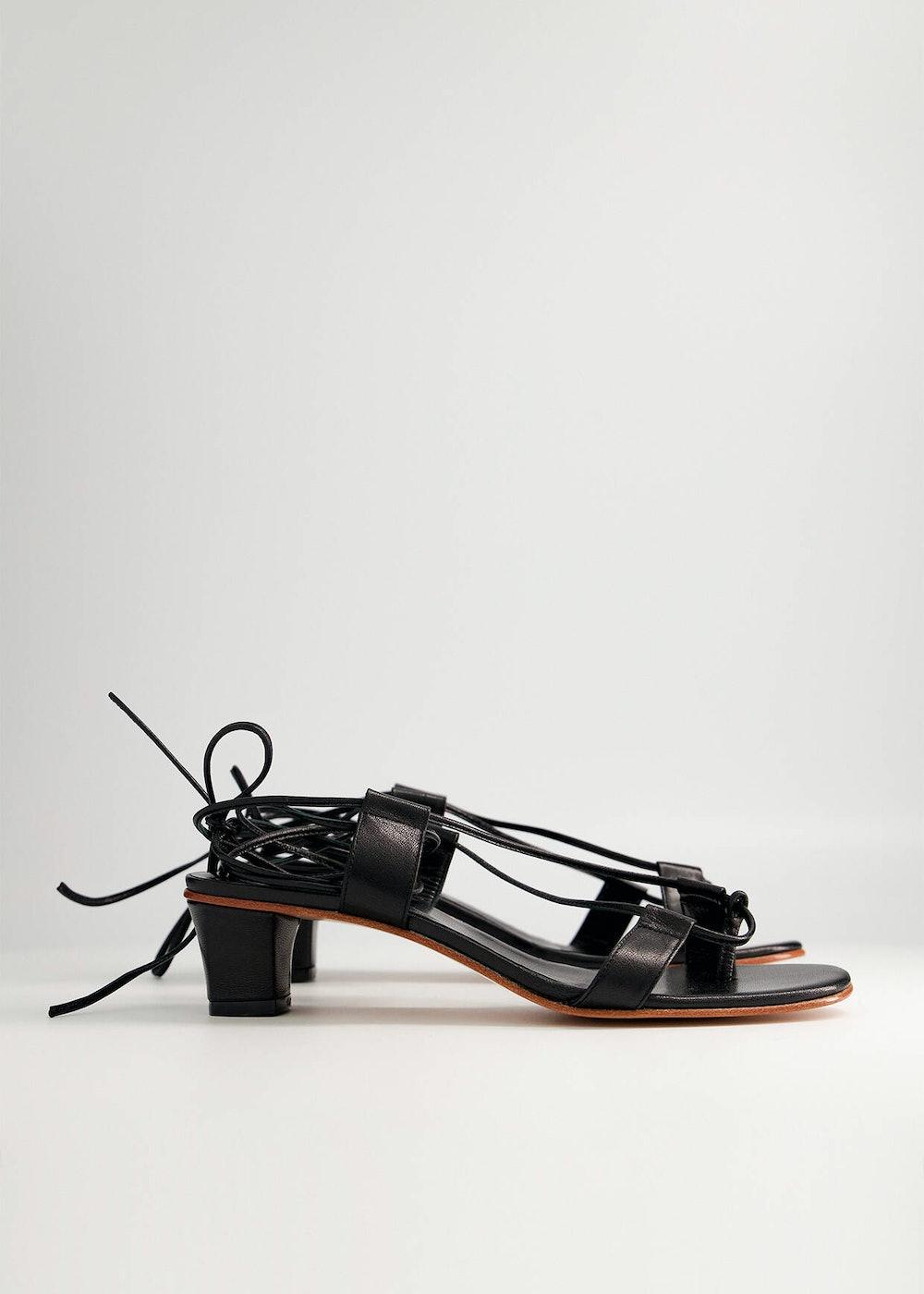 Pavone Sandal in Black